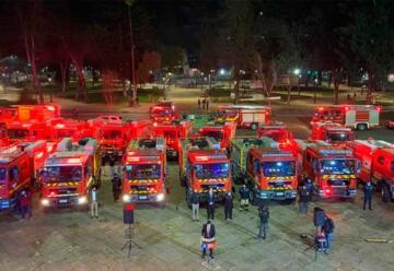 Bomberos de Ñuble reciben 19 carros adquiridos con recursos regionales