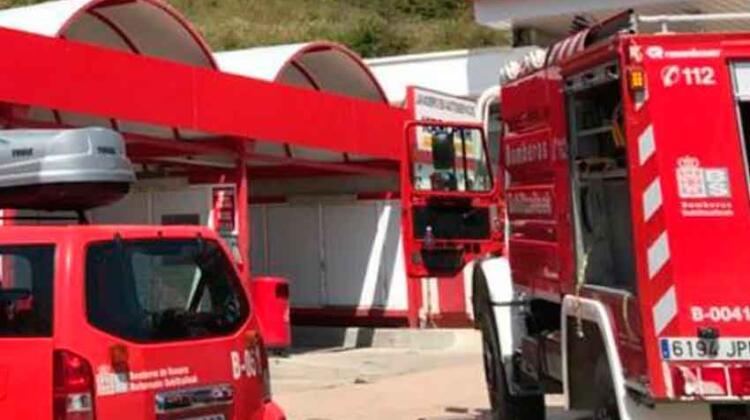 """Un parque de bomberos de Navarra cierra """"por falta de efectivos"""""""