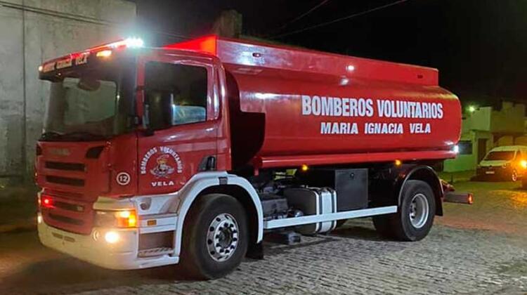 Bomberos de María Ignacia Vela con nuevo móvil