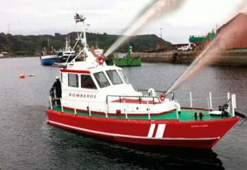 Puerto Montt tendrá una embarcación para combatir incendios marítimos