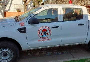 Bomberos Voluntarios Pavón con nueva unidad