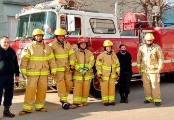 Más seguridad para Los Bomberos Voluntarios de San Agustín