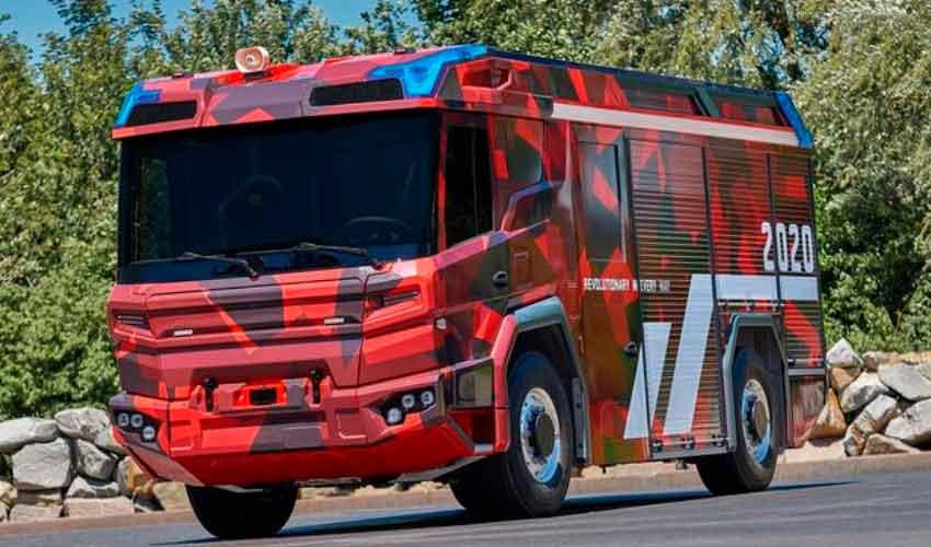 Camión de bomberos eléctrico rodará con tecnología Volvo