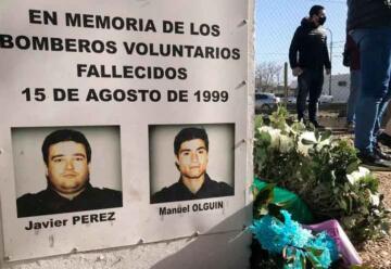 Homenajearon a los bomberos caídos en la tragedia piquense