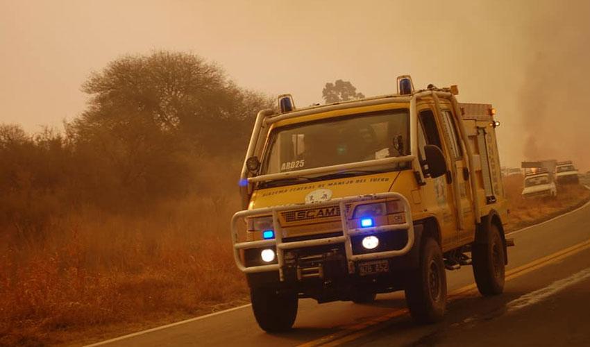 Incendios Forestales en Córdoba