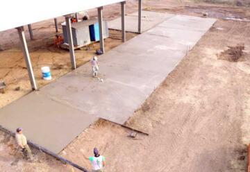 En marcha el nuevo cuartel de Bomberos Voluntarios de Lonquimay