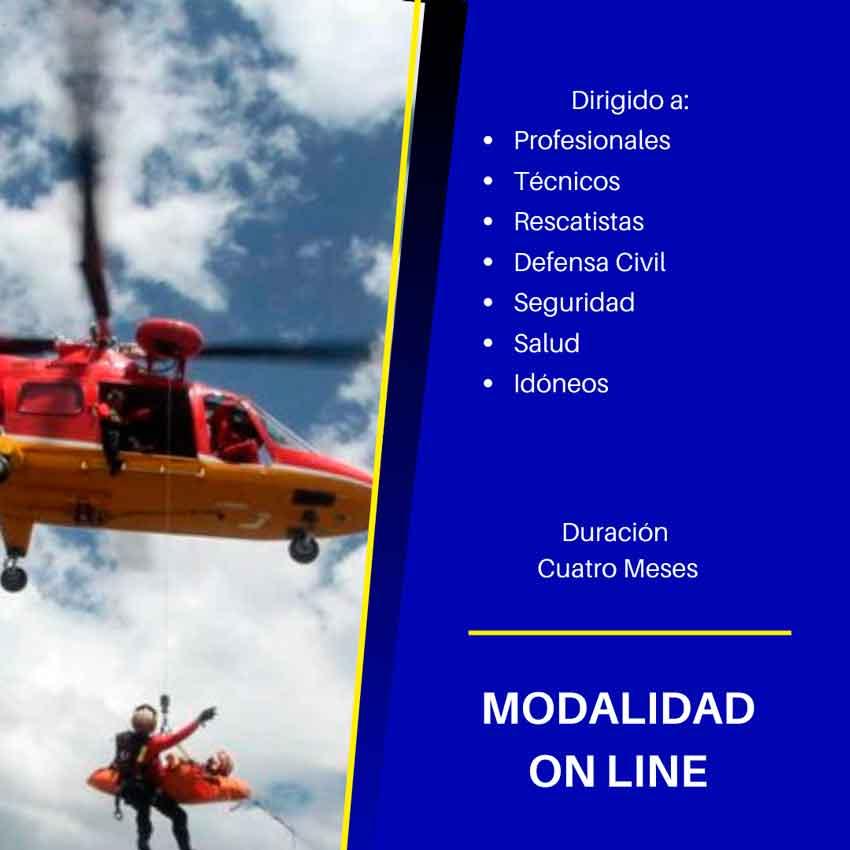 Diplomatura en Operaciones de Emergencias y Desastres