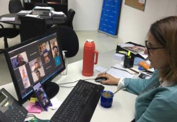 La Federación Chubutense se reunió con la Directora Nacional de Bomberos Voluntarios