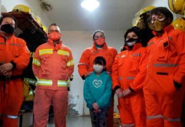 Una familia de bomberos con vocación de servicio
