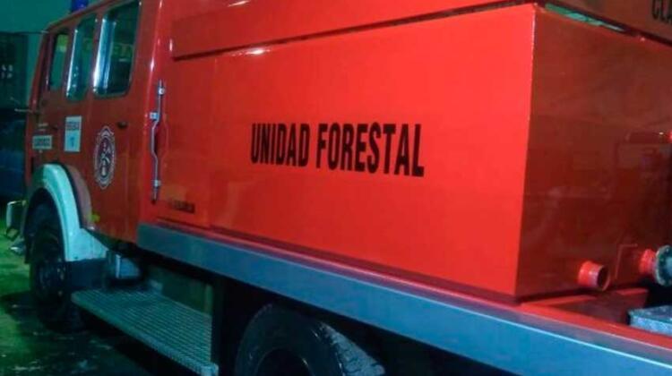 Nuevo carrozado para la Unidad Forestal de Bomberos