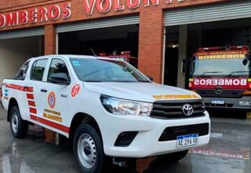 Nueva camioneta para Bomberos Voluntarios de Maschwitz