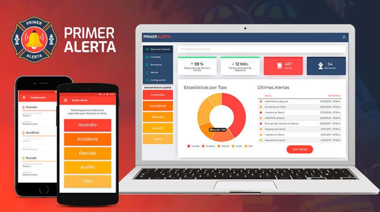 Un App pensada para mejorar la comunicación entre personal de respuesta a emergencias