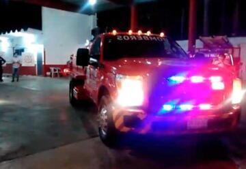 Bomberos de Ciudad del Carmen con nuevo vehículo