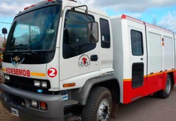 Bomberos de Zenón Pereyra adquirieron un nuevo camión forestal