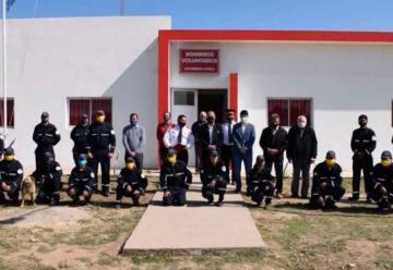 Bomberos de Las Breñas cuentan con nuevas instalaciones