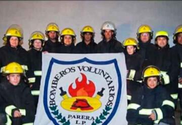 Bomberos Voluntarios de Parera recibió equipos de protección personal