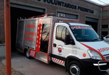 Bomberos Voluntarios de Piedritas cumplieron 33 años de vida