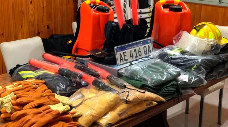 Nuevo equipamiento para Bomberos de San Cristóbal