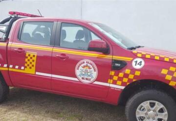 Bomberos Voluntarios Del Valle incorpora nueva unidad