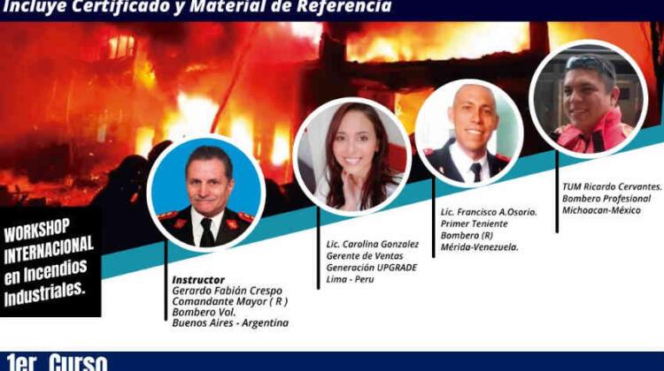 Workshop Internacional en Incendios Industriales