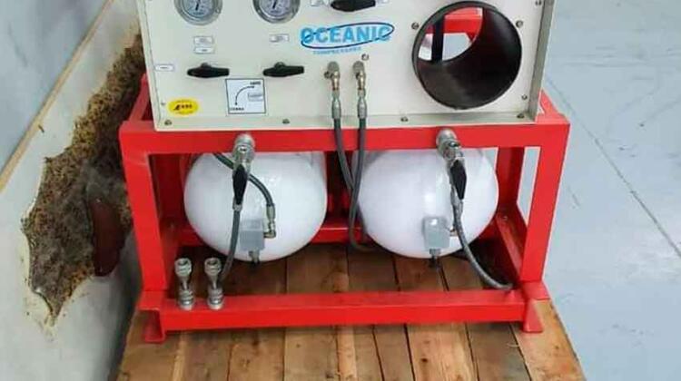 Nuevo compresor de aire para Bomberos Voluntarios