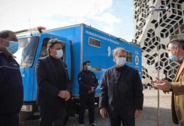 Suman un nuevo camión «comando» para atender emergencias