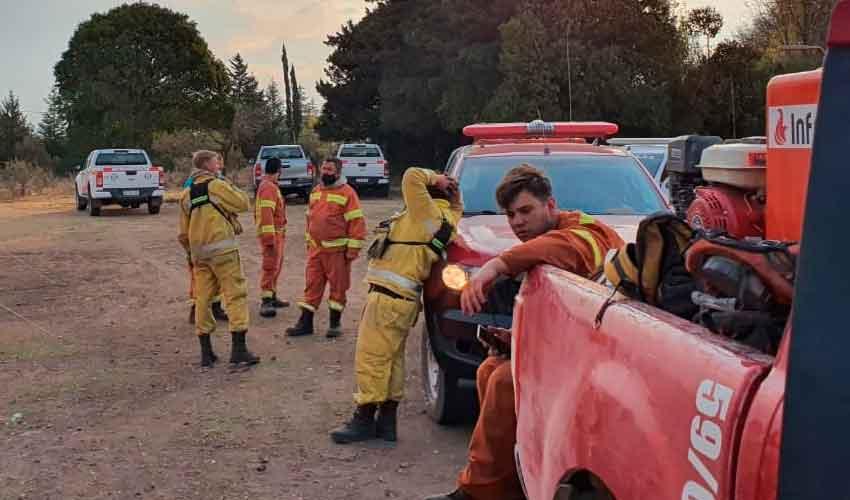 Cordoba: Actualización del estado de los incendios en la provincia
