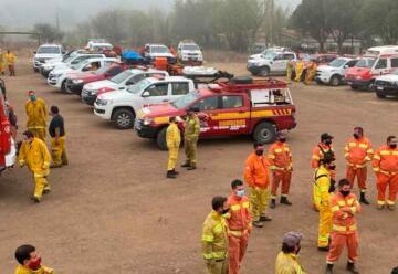 Forestales: informe del estado de los incendios en Córdoba