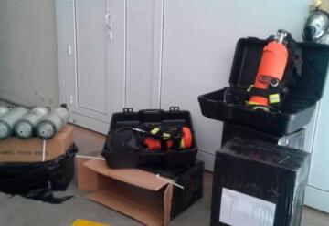 Bomberos Voluntarios de Coronel Suárez con nuevos equipos