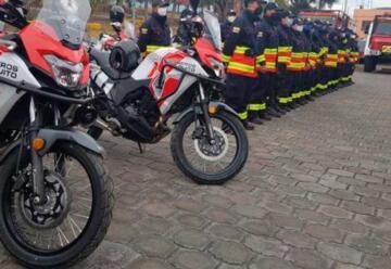 Bomberos de Quito cuenta con 30 nuevas motos para emergencias