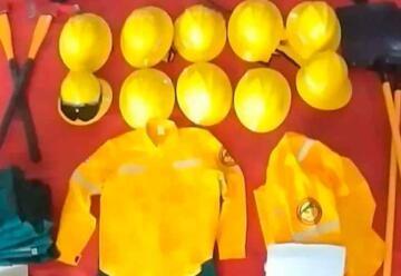 Bomberos adquirieron equipamiento contra incendios forestales