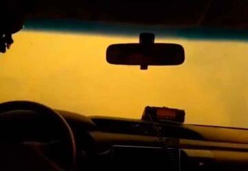 """Video: """"La única vía segura era atravesar las llamas"""""""