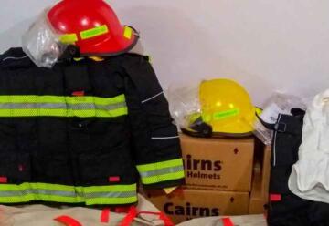 Nuevo equipamiento para los Bomberos de San Martín de los Andes