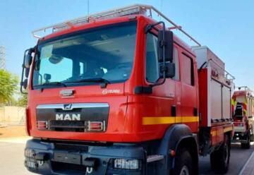 Rumbo a Chile viajan carros de bomberos destinados a incendios forestales