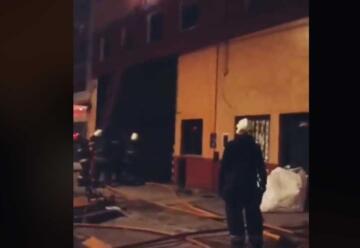 Incendio en depósito de Galletitas en Ciudad de Buenos Aires