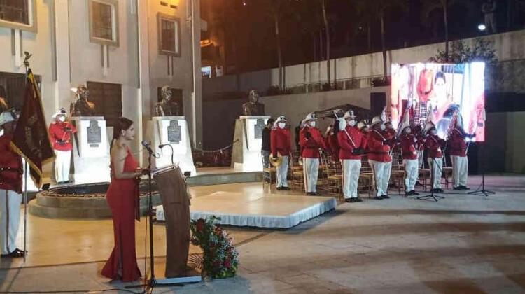 Bomberos de Guayaquil celebran su día con actos