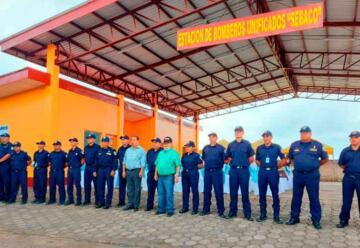 Inauguran la estación de bomberos en Sébaco-Matagalpa