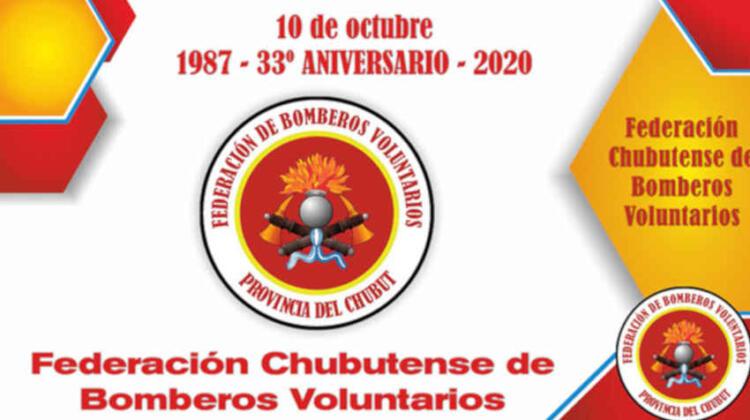 33° Aniversario de la Federación Chubutense de Bomberos Voluntarios