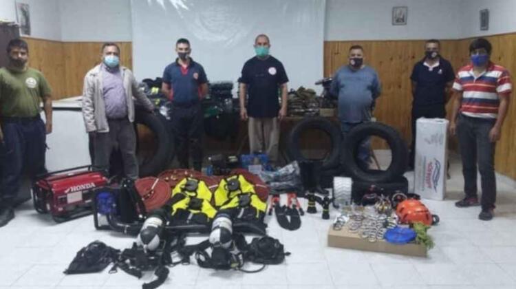 Bomberos de Rosario de La Frontera con nuevos equipos