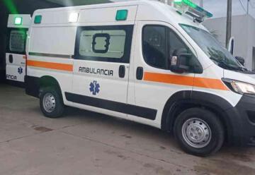 Bomberos Voluntarios de Humboldt cuenta con una ambulancia nueva