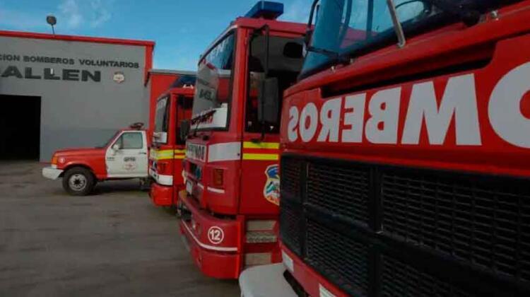 Aprueban donación de vehículos usados a bomberos voluntarios