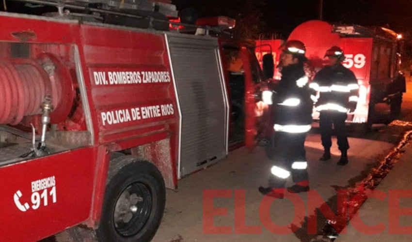 Villa 351: Disparos y pedradas a dotación de bomberos