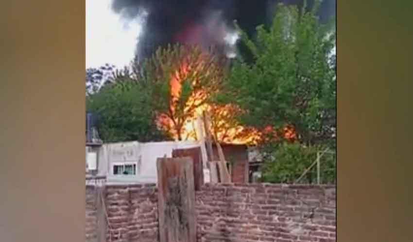 Varios Bomberos heridos por explosión en Tortuguitas