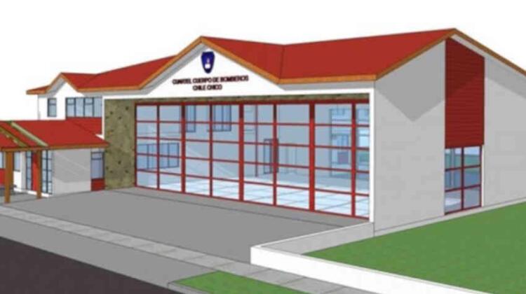Cuartel de Bomberos de Chile Chico será una realidad