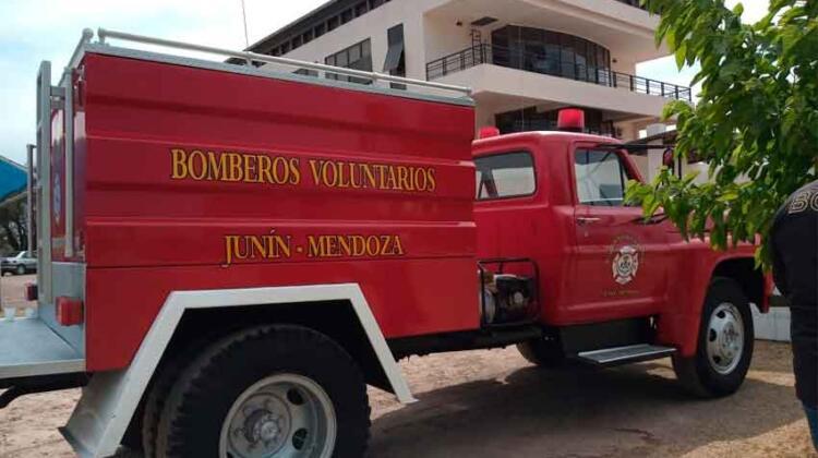 Bomberos Voluntarios de Junín ya cuentan con un autobomba