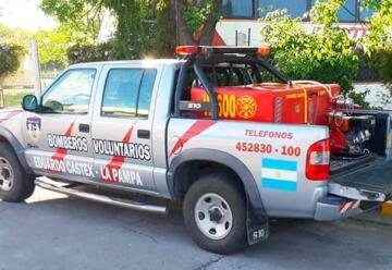 Bomberos adquirió equipamiento para combatir los incendios forestales