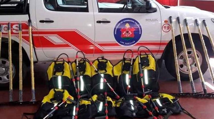 Bomberos voluntarios de Las Varillas adquirió nuevo equipamiento