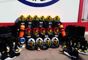 Bomberos Voluntarios Coronel Granada con nuevo equipamiento