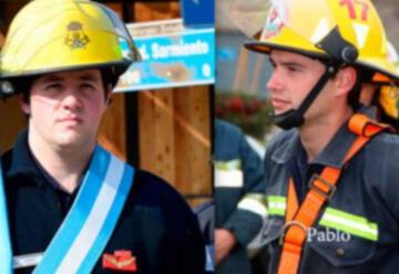 Dos bomberos voluntarios de Urdinarrain salvaron la vida de un bebé