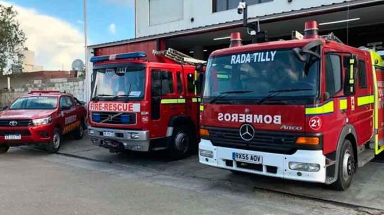 Bomberos Voluntarios de Rada Tilly cumplieron 33 años